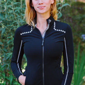 Cara Light Fleece Jacket - Raven