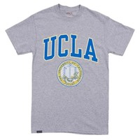 UCLA Bruins Arch Over Seal T-Shirt - Grey