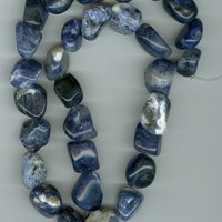 Sodalite Tumbled Beads - Medium size