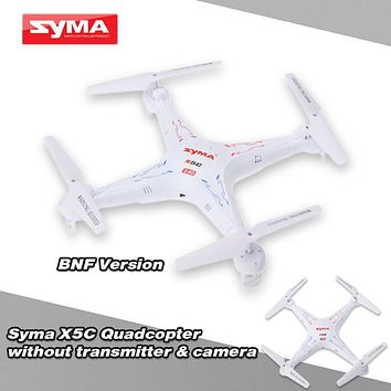 Original SYMA X5C 4CH 6-Axis Gyro RC Drone Quadcopter Without Camera & Transmitter Remote Control Helicopter Flying Dron
