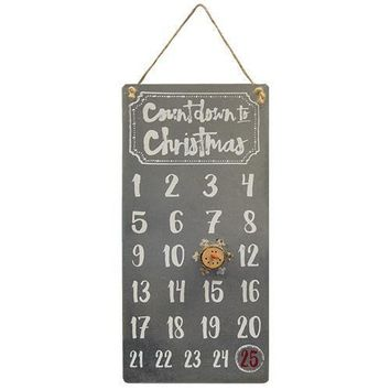 Christmas Countdown Calendar With Magnet