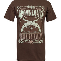 Browncoats Serenity Valley T-Shirt - Brown,