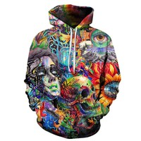 The Mystery Of Life Trippy Hoodie