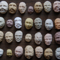 25 Sprouting Seed Faces
