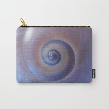 Moon snail Carry-All Pouch by Vesoterica