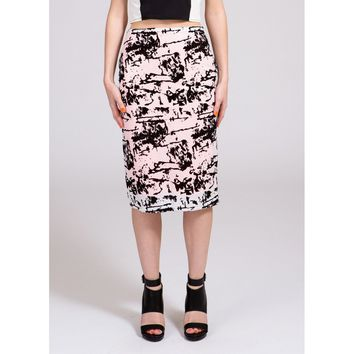 Sophie Sequins Pencil Skirt