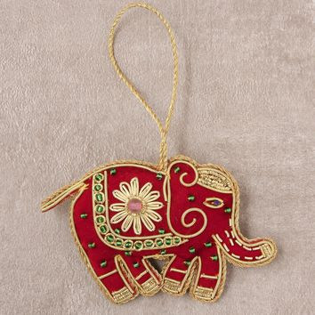 Fair Trade Handmade Elephant Ornament