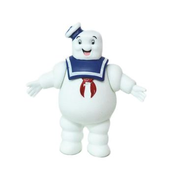 1PC 14cm Cute Vintage Ghostbusters 3 Stay Puft Marshmallow Man Bank Sailor Action Figure Toys Dolls Children Gifts