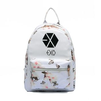 KPop Backpacks EXO Bigbang BTS Backpacks For Girls