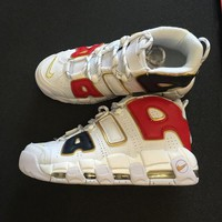 "DCCKIG3 Nike Air More Uptempo QS AIR ""AMERCAN CHAMPION�Sneaker 414962-108"
