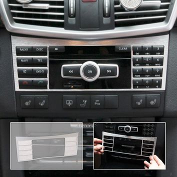 Interior Center Console Button Panel Switch Panel decorative Cover Trim For Mercedes Benz W212 E Class 2010 2011 2012 2013 -2015
