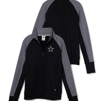 Dallas Cowboys PINK Ultimate Half-Zip - PINK - Victoria's Secret