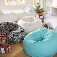 Brown Zebra Beanbag
