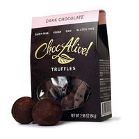 ChocAlive! Gluten-Free, Vegan Truffles The Dark Chocolate Lover's Combo!