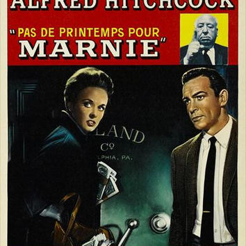 Marnie (Belgian) 11x17 Movie Poster (1964)