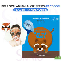 Berrisom Animal Mask series - Raccoon (Placenta + Adenosine)  *exp.date 03/18*