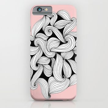 Open Minded / Rose Quartz iPhone & iPod Case by Ducky B