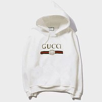 GUCCI Hooded Fashion Long Sleeve Top Sweater Hoodie Sweatshirt