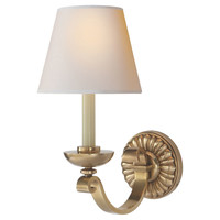 Sconces, Palma 1-Light Wall Sconce, Brass, Sconces