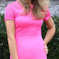 Melt My Heart Hot Pink Dress
