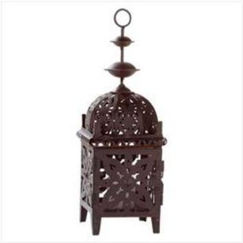 Metal Moroccan Style Lantern (pack of 1 EA)