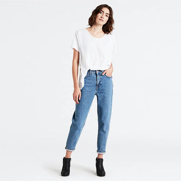 Levi's® Extra Mom Jeans - Medium Indigo | Levi's® GB