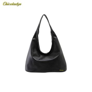 CCHICOLADYZ 2016 New Women Shoulder Bags Hobos Designer Handbags For Women Black PU Leather Bags Ladies Messenger Bags Bolso