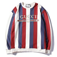 GUCCI Design Round Neck Long Sleeve Sweater
