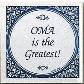 Dutch Gift For Oma: Oma Is Greatest