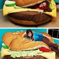 Hamburger Bed