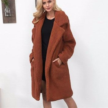 Shirley wool coat