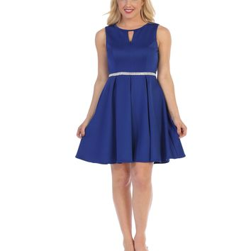 Short Cocktail Party Bridesmaids Dress
