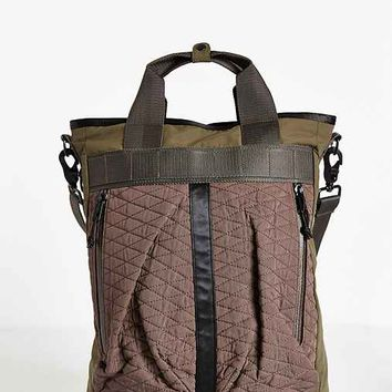 All-Son Tonal Military Helmet Bag- Grey One