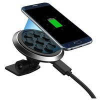 2017 Quick Charger Qi Wireless Car Charger Transmitter Holder Fast Charging For Samsung Galaxy S8 Cell Phone#25