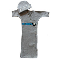 Baby Boys' Rock Star Bunting Gown Set
