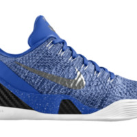 Nike Kobe 9 Elite Low iD Custom Basketball Shoes - Silver