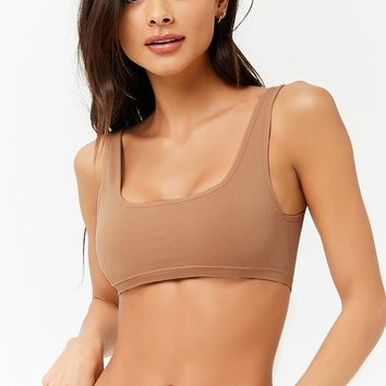 Seamless Scoop Neck Bralette