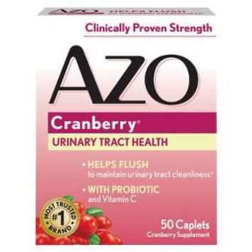 AZO Cranberry Bladder/UTI Treatment Caplets - 50 Count