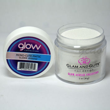 Glam and Glits GLOW ACRYLIC Glow in the Dark Nail Powder 2004 - MONO-CUTE-MATIC