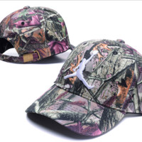 Printed Air Jordan Baseball Cap Hat Snapback