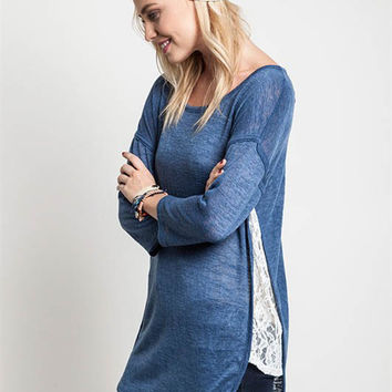 The Lace Divide Tunic - Umgee Brand