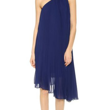 Club Monaco Cassia One Shoulder Dress