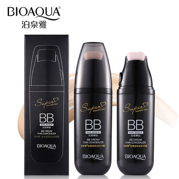 BIOAQUA Brand Scroll Cushion BB Cream Face Primer Foundation Base Makeup Perfect Cover Flawless Liquid Concealer Korean Cosmetic