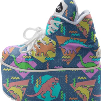 Nineties Dinosaur Pattern created by chobopop | Print All Over Me