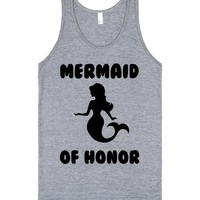 MERMAID OF HONOR BRIDAL SHIRT