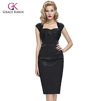 Blue Black Cocktail Dresses 2017 robe de cocktail Sexy bodycon summer Casual Party Dresses Vintage Special Occasion For Women