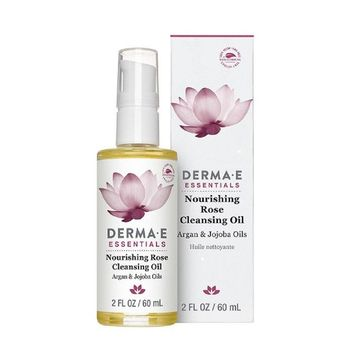 Derma E Nourishing Cleanser Oil; Rose - 2 oz