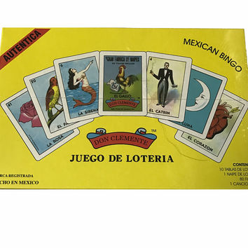 Loteria Don Clemente,  Luxury Edition Authentic Mexican Bingo Game