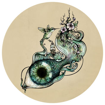 Enkel Dika's Flowing Inspiration Circle Decal