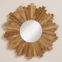 Myles Sunburst Mirror - World Market